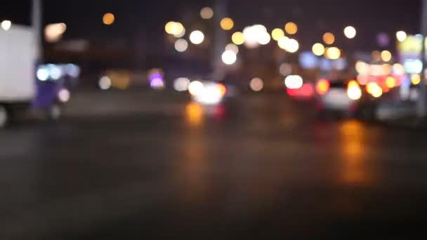 noční městské dopravy. časová prodleva