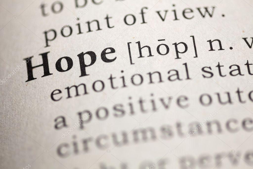 Hope definition essay