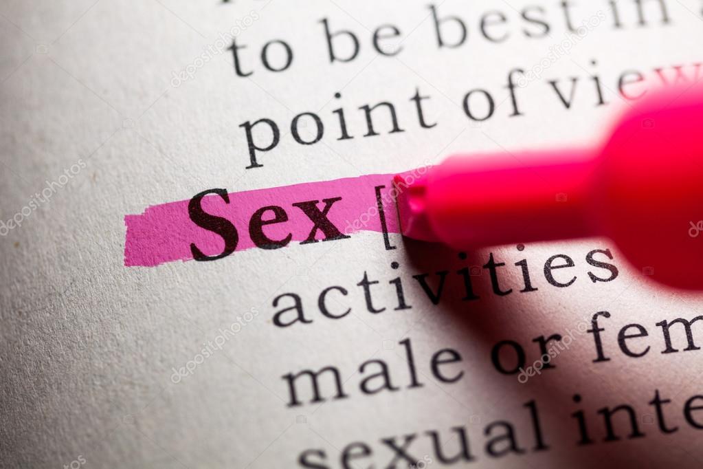 Ορισμός σεξ