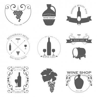 Collection of Premium Quality Wine Labels