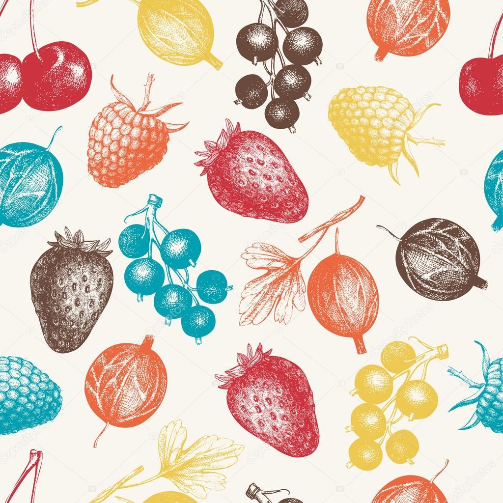 Wild and garden berries