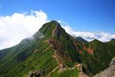 Fotografie vrchol hory