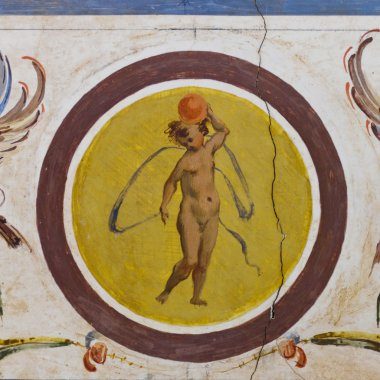 "Картина, постер, плакат, фотообои ""маленький ангел фреска"", артикул 13868777"
