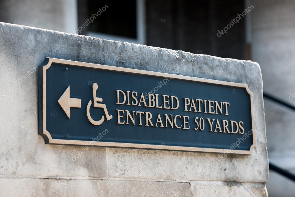 disabled handicap entrance entrance sign stock photo ifeelstock