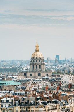 L'Hotel National des Invalides skyline over Paris