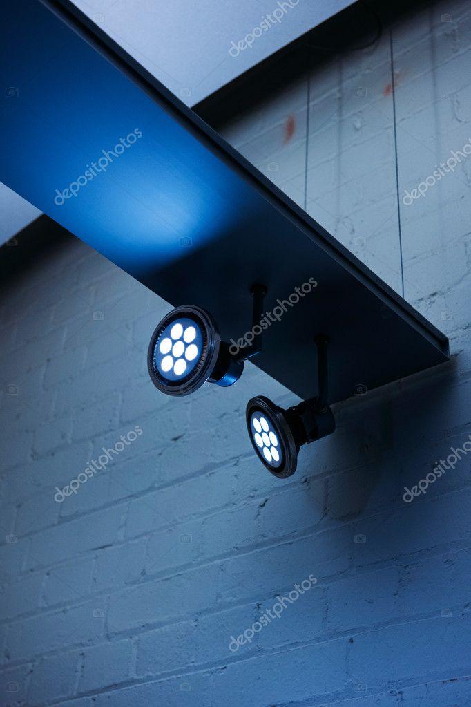 professioneel led verlichting stockfoto