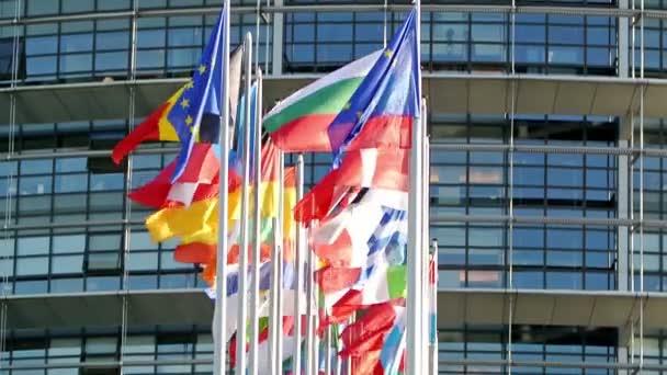All EU countries flags