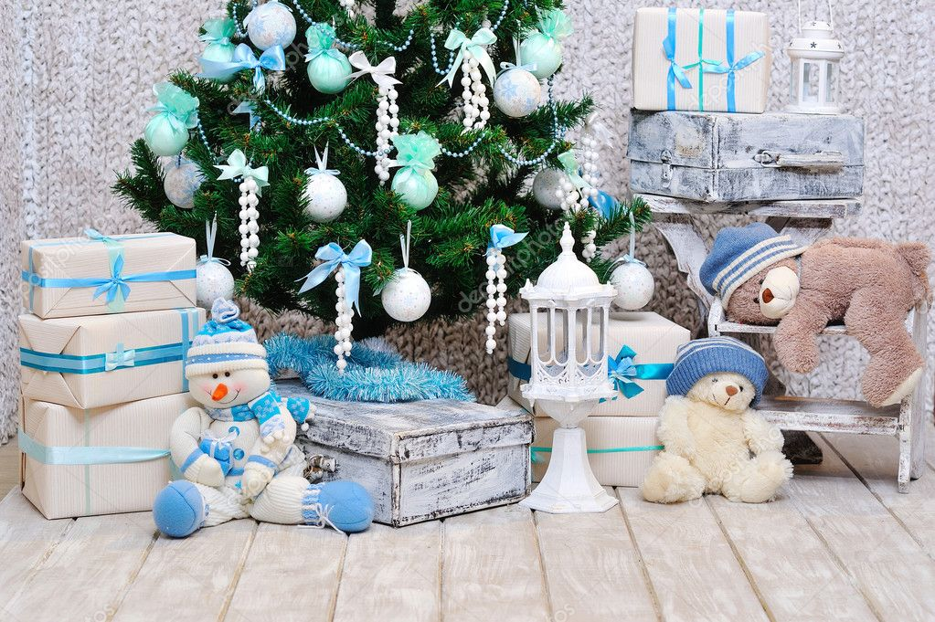Weihnachten Raumdekoration — Stockfoto © zoiakostina #35683707
