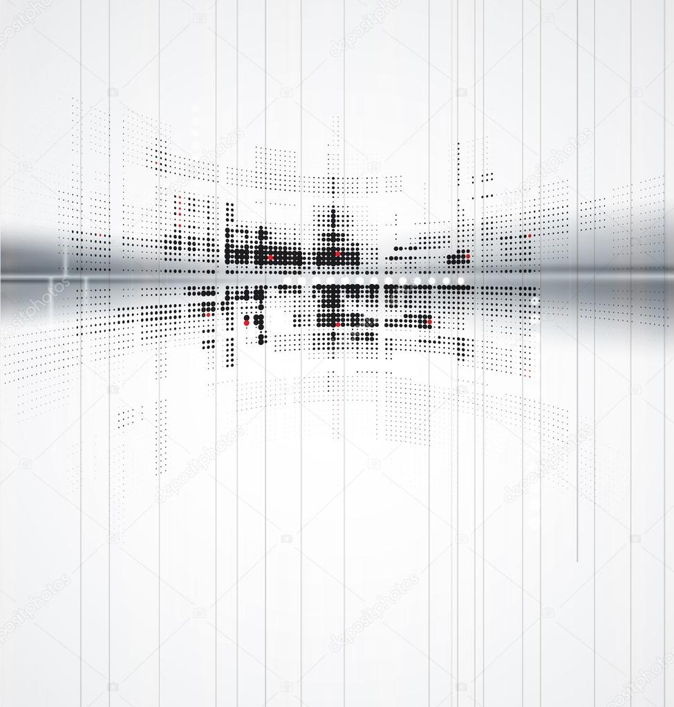 abstract futuristic new technology business background stock