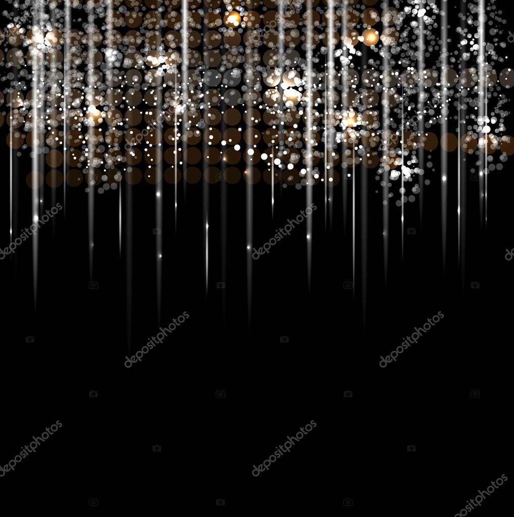 Disco light rain stars abstract dance background