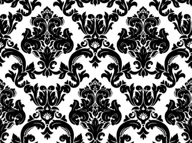 . Seamless damask pattern