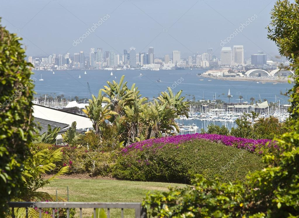 View of San Diego california.
