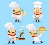 Šéfkuchař znaková sada