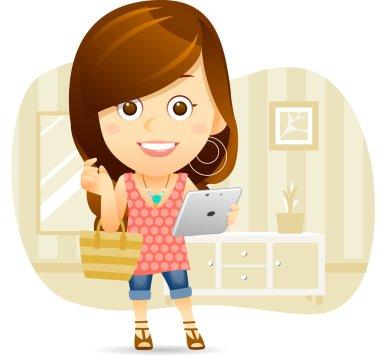 Shopping Lady