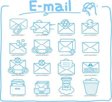 E-mail ,Business,Internet icon set