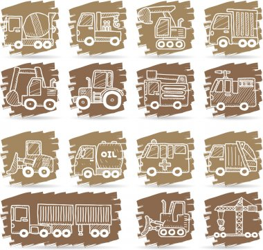 Car,truck icons