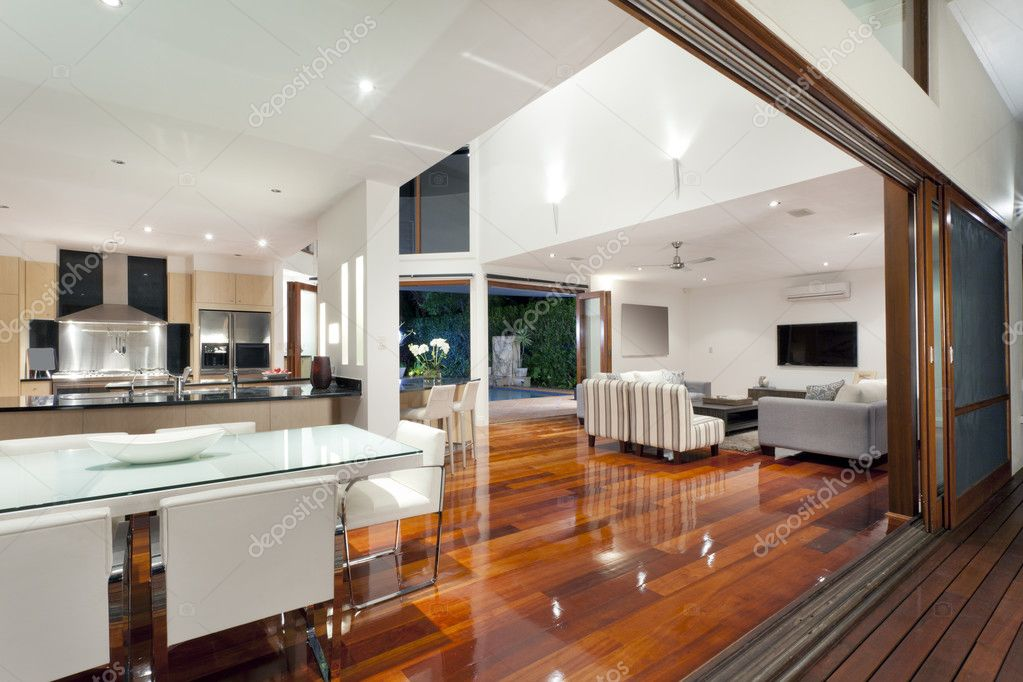 Luxurious home interior