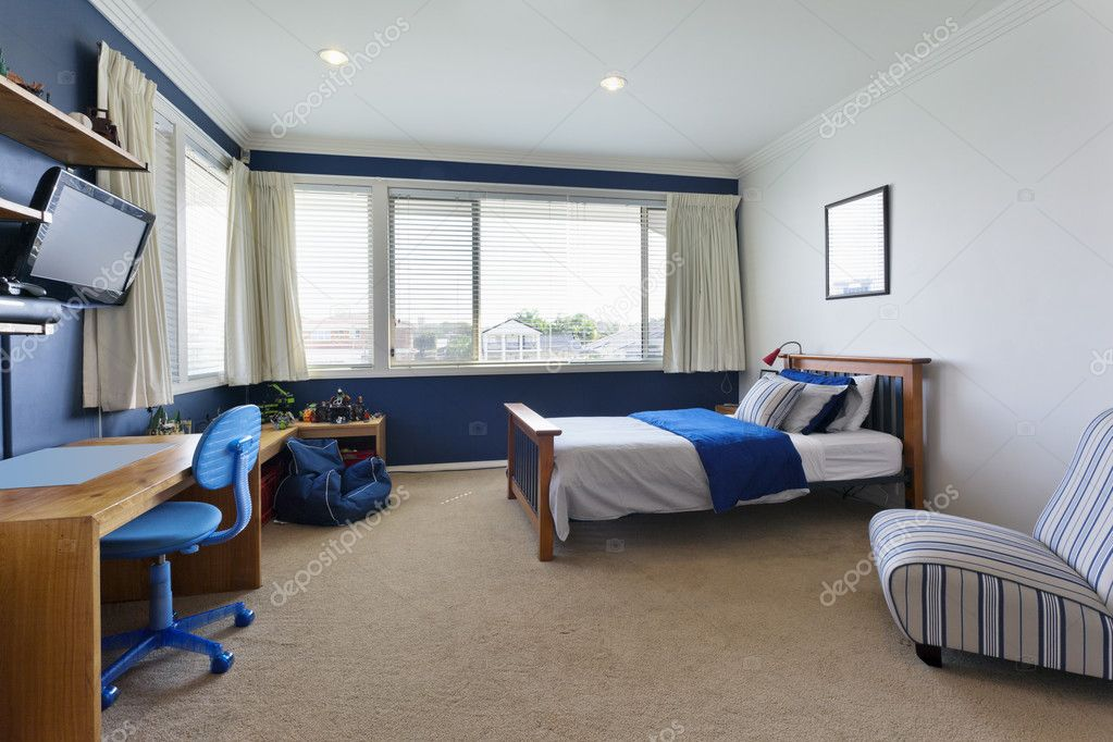 Modern childrens bedroom — Stock Photo © epstock #39229267