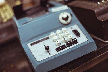 vintage printing calculator