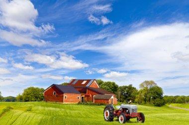 American Countryside stock vector