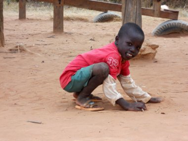 Smile for Africa 386 - Moments of everyday life of African child