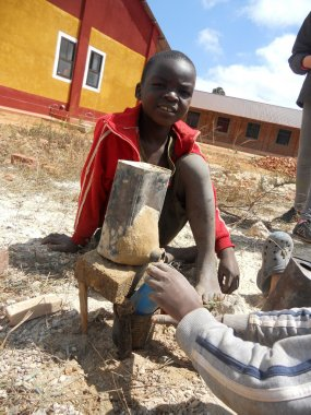 Smile for Africa 451 - Moments of everyday life of African child