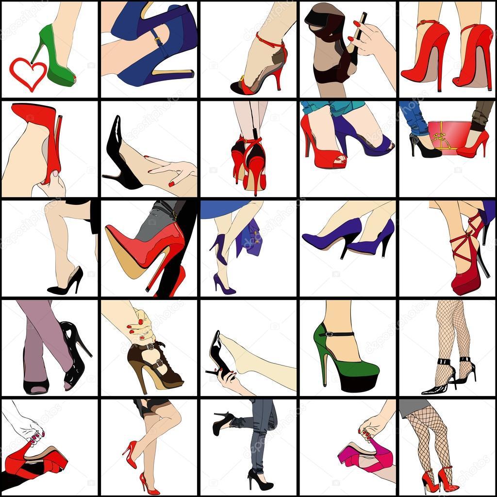 2618033b17 Minha paixão por sapatos — Fotografias de Stock © francofox #27713187