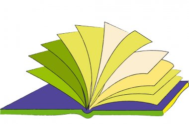 Book (The loose pages of an open book)