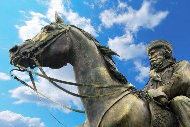 Statue of Giuseppe Garibaldi - Genova Italy