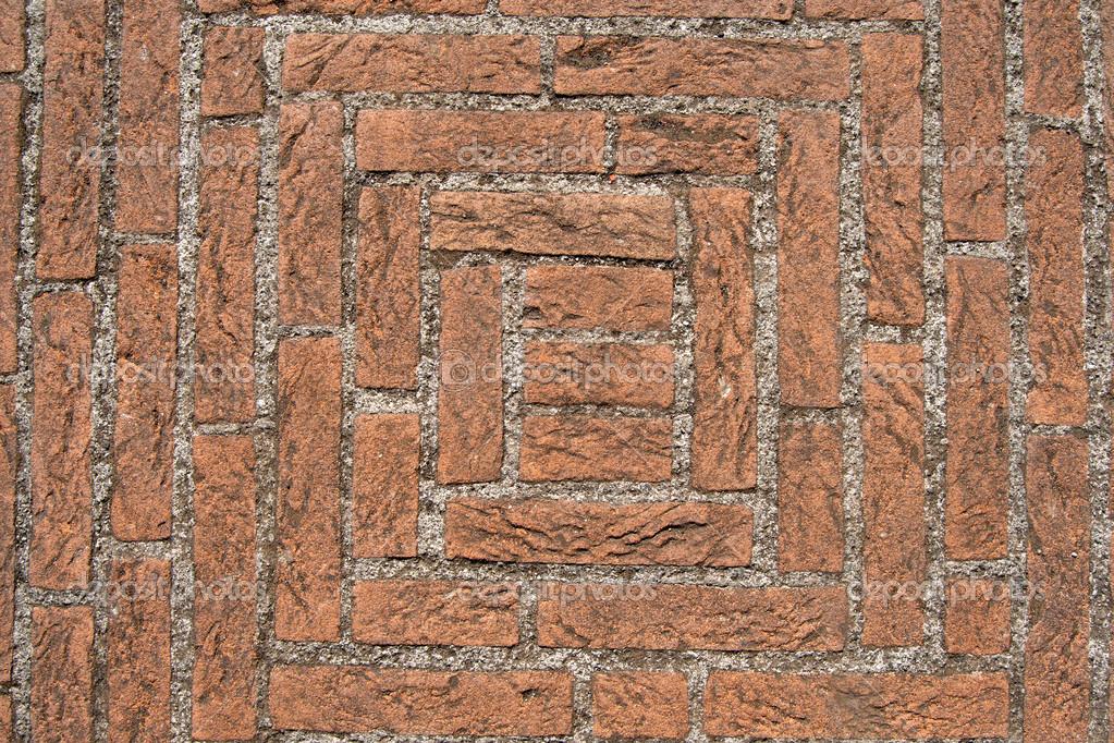Fußboden Aus Ziegel ~ Alten fußboden mit ziegel und beton u stockfoto catalby