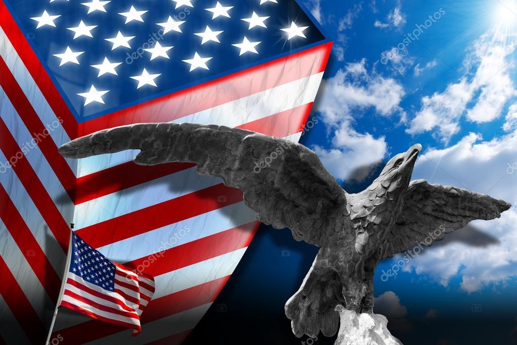 Patriotic Symbols Of The Usa Stock Photo Catalby 47044113
