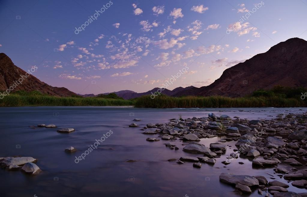 Richtersveld Orange River sunset