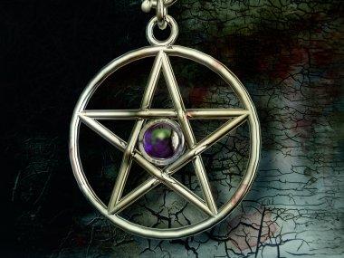 Pentagram silver
