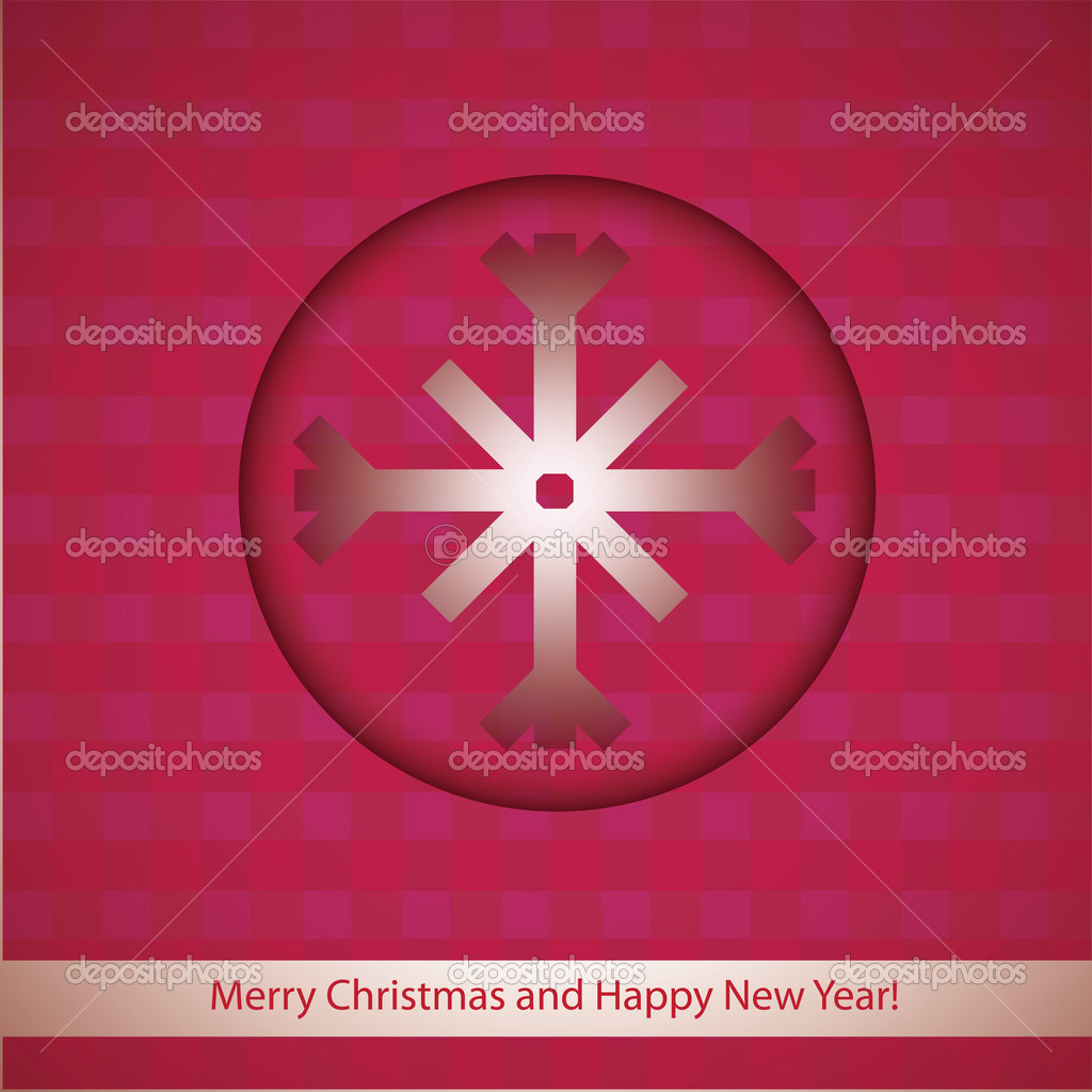 Frohe Weihnachten und guten Rutsch ins neue Jahr — Stockvektor © Rud ...