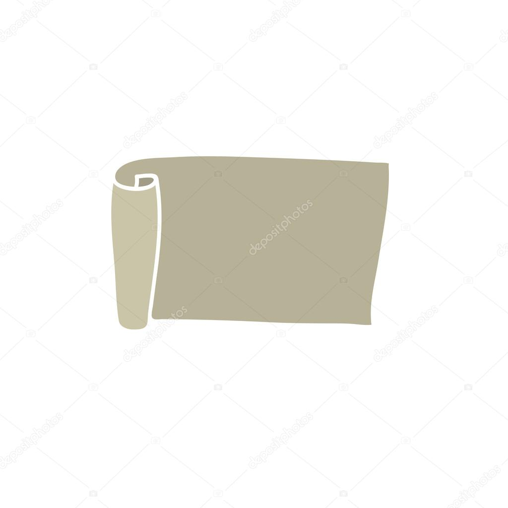 leere Papier scroll — Stockvektor © Rud-Volha #33820797