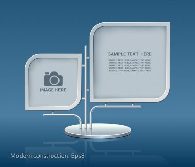 Modern construction, vector, design