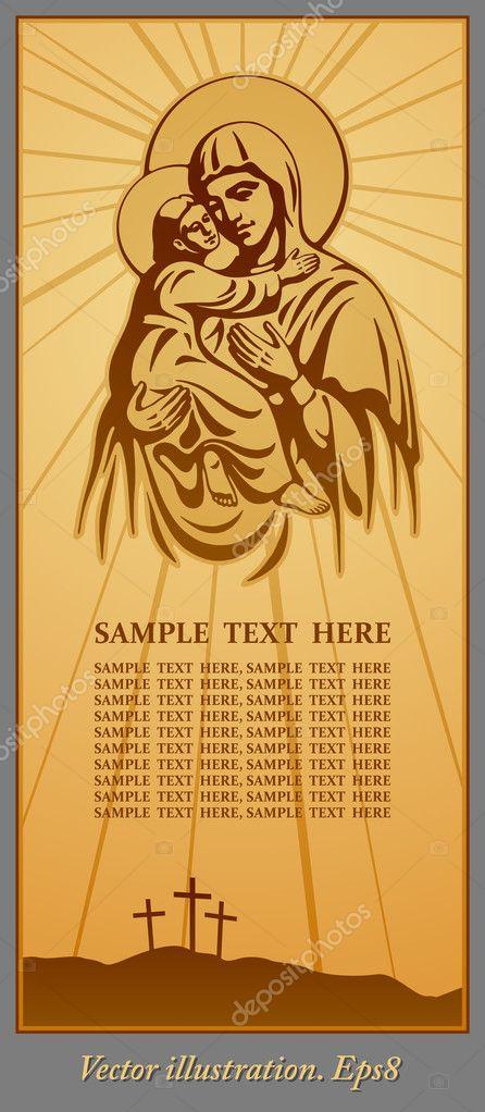 Aliexpress.com: Compre Virgem Maria Jesus Christian pintura DMC ...
