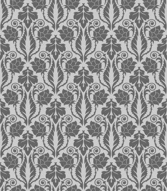 Seamless wallpaper pattern, ornament, vector