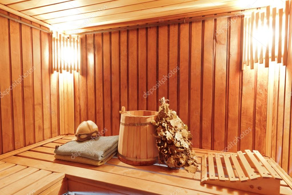 interieur van houten russische sauna stockfoto rumo 13847566. Black Bedroom Furniture Sets. Home Design Ideas