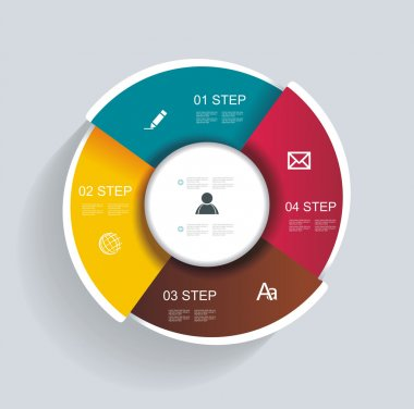 3d design infographics for presentations