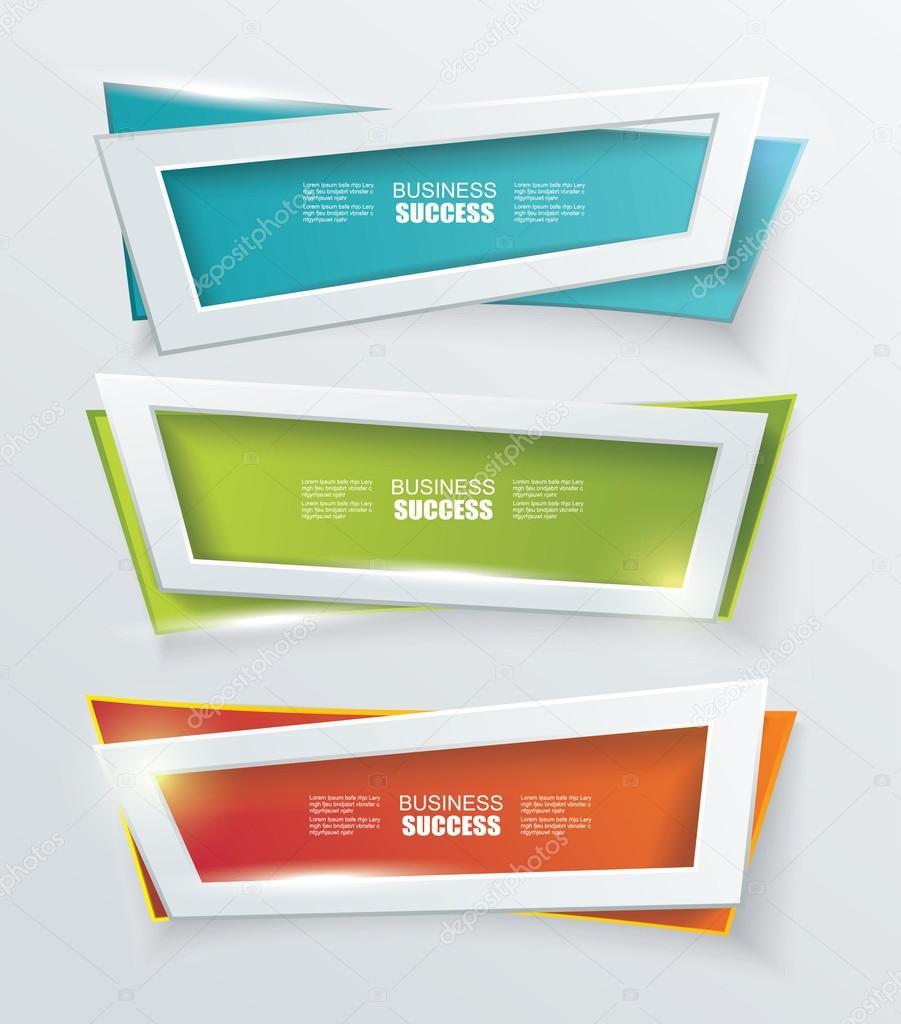 vector modern banners or frames element design stock vector 51148279 - Modern Frames