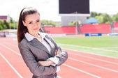 Fotografie Porträt einer schönen Business-Frau