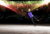 Fotografie Leistung der jungen Skater, Eisshow