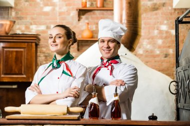 portrait of two cooks