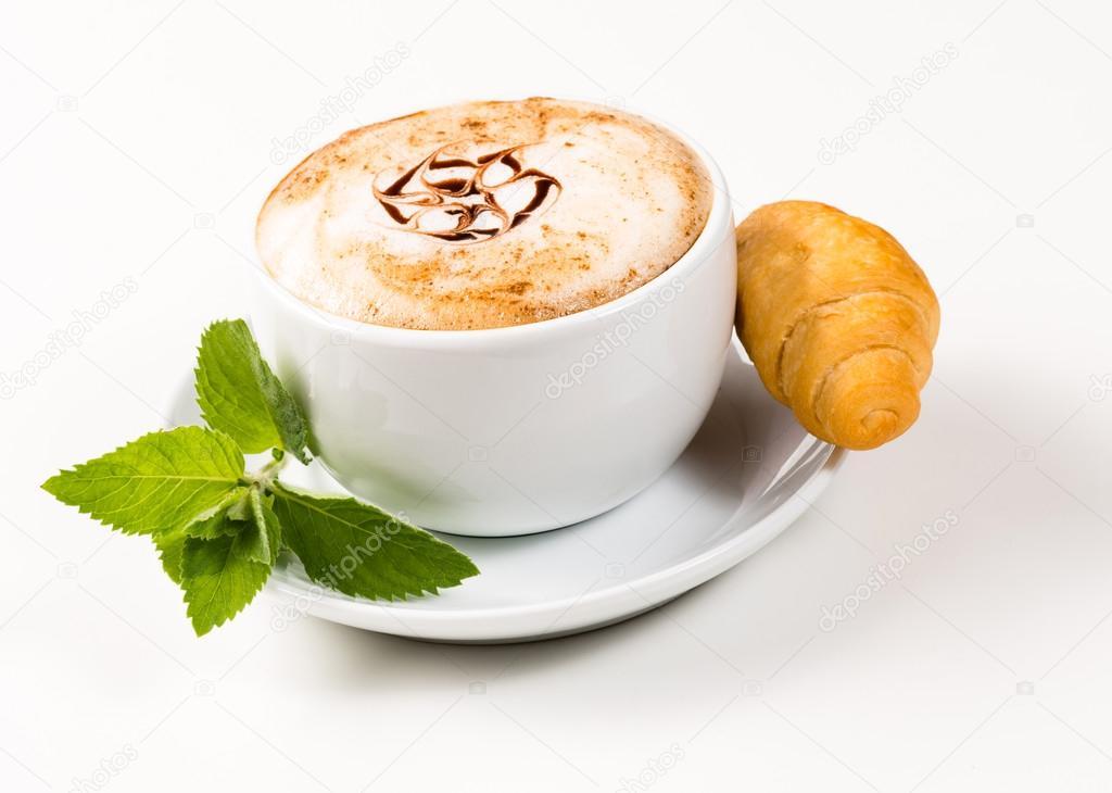 Resultado de imagen de cafe con medialunas