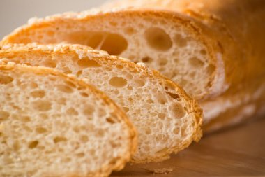 Sliced bread with cereals
