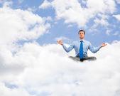 meditál üzletember