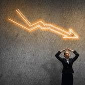 Fotografie neúspěch v podnikání