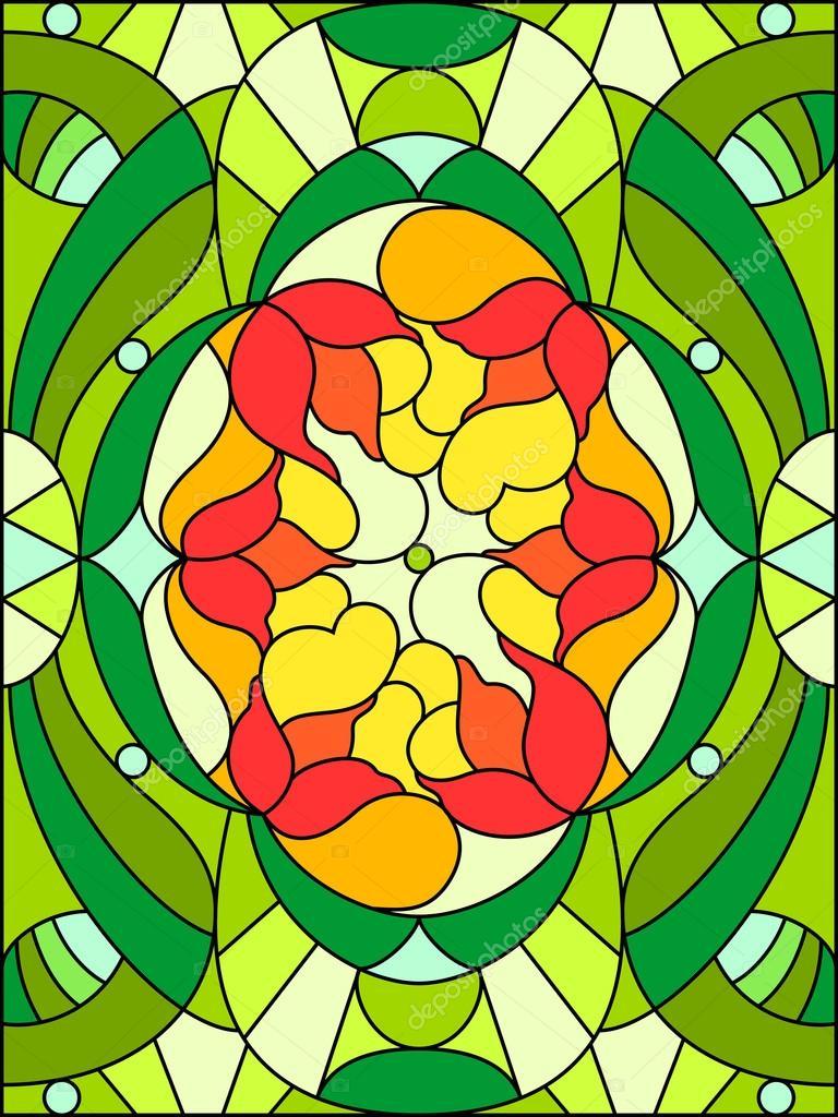 Fönster blyinfattade fönster : Blyinfattade fönster. blommönster — Stock Vektor © meganeura #51761309