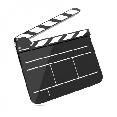 Film Clap Board Cinema.